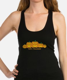Unique Happy halloween Racerback Tank Top