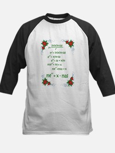 Christmas Math Baseball Jersey