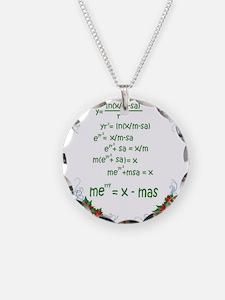 Cute Math teacher Necklace
