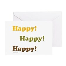 Happy! Happy! Happy! Greeting Cards