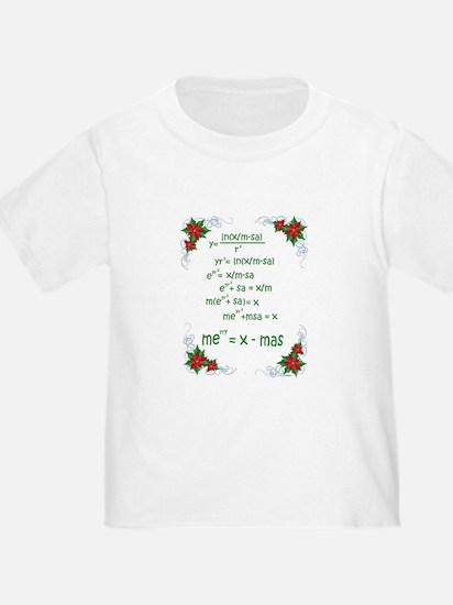 Christmas Math T-Shirt