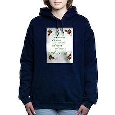 Christmas Math Women's Hooded Sweatshirt