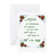 Christmas Math Greeting Cards