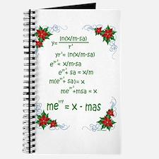 Christmas Math Journal