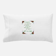 Christmas Math Pillow Case