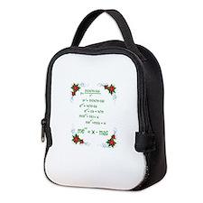 Christmas Math Neoprene Lunch Bag