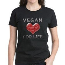 Vegan For Life Tee