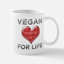 Vegan For Life Mug