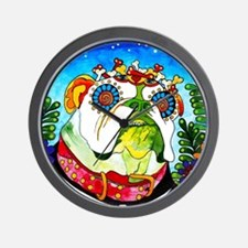 Cute Day of the dead wall Wall Clock