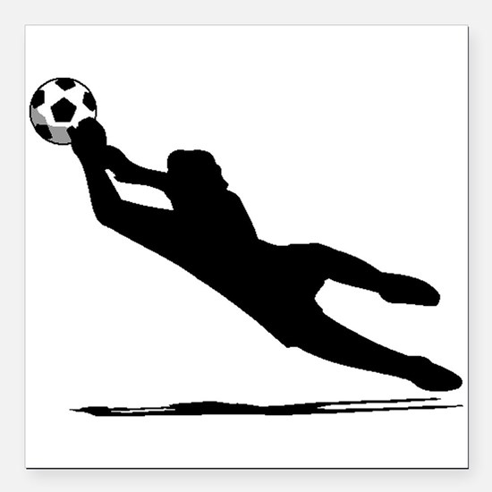 Soccer Goalie Car Magnets CafePress - Custom sport car magnetsvolleyball car magnet custom magnets for volleyball players