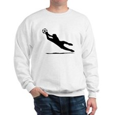 Soccer Goalie Silhouette Sweatshirt