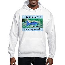 Aqua Ferret Hoodie