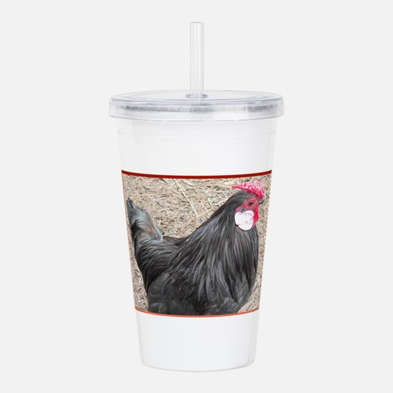 Chicken, Barnyard Acrylic Double-Wall Tumbler