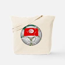 Tunisia Soccer Ball Tote Bag