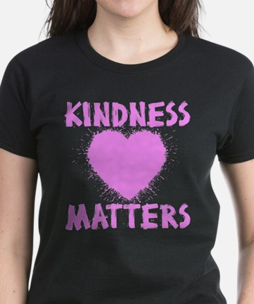 KINDNESS MATTERS Women's Dark T-Shirt