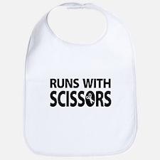 Unique Runs with scissors Bib