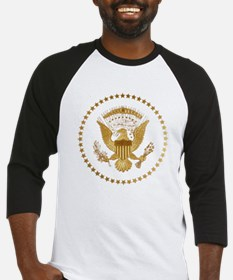 Gold Presidential Seal Baseball Jersey