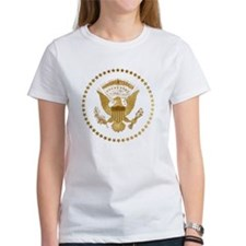 Gold Presidential Seal Tee
