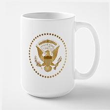 Gold Presidential Seal Mug