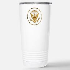 Gold Presidential Seal Travel Mug