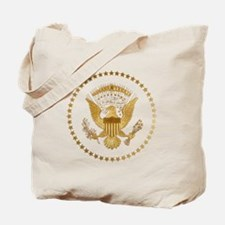 Gold Presidential Seal Tote Bag