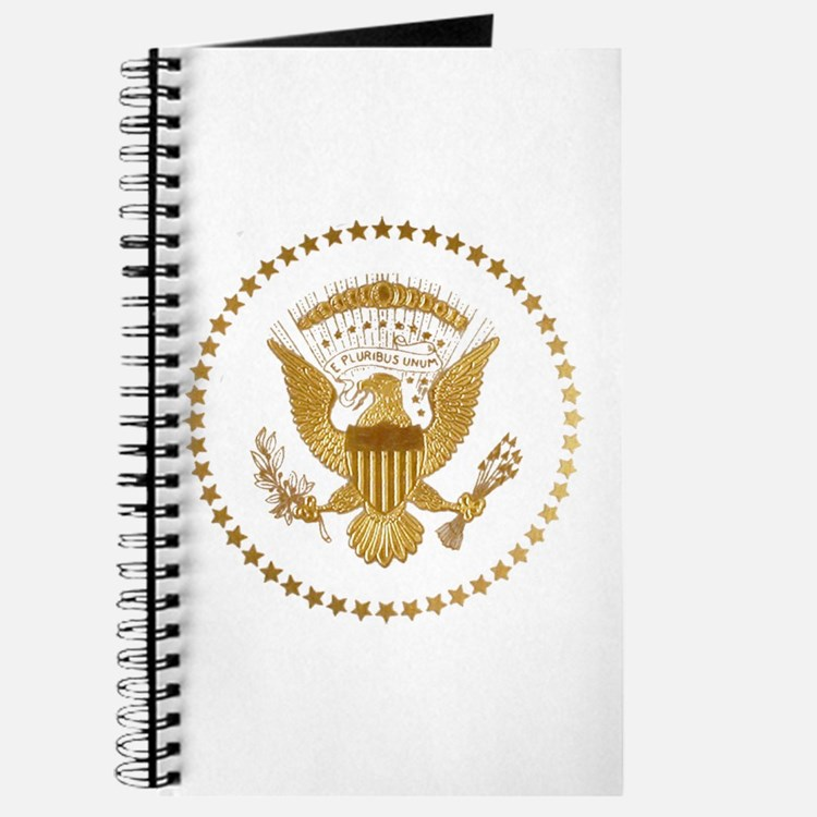 Gold Presidential Seal Journal