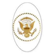 Gold Presidential Seal Decal