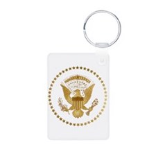 Gold Presidential Seal Keychains