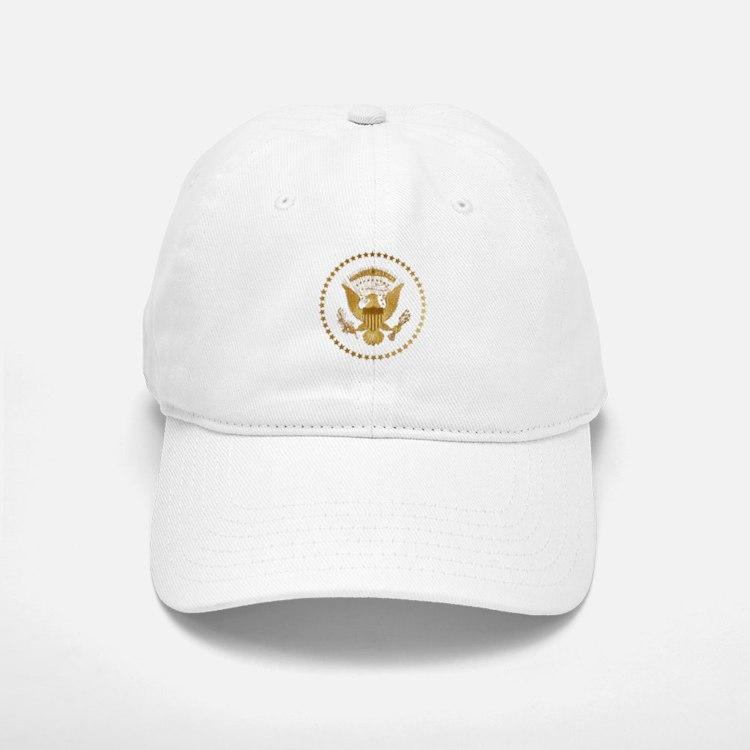 Gold Presidential Seal Baseball Baseball Cap