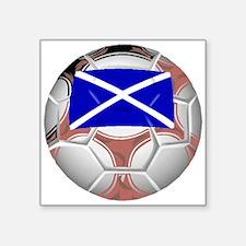 Scotland Soccer Ball Sticker