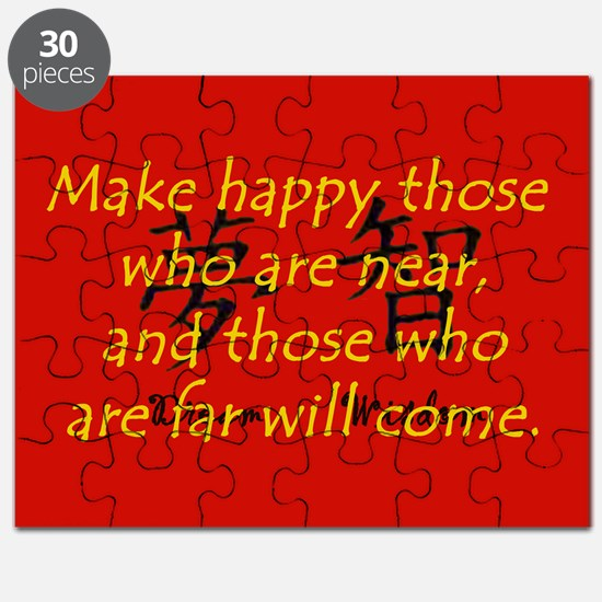 Make Happy Those Who Are Near Puzzle