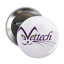 "Cute Veterinary technician 2.25"" Button (10 pack)"