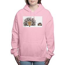 Hedgehog Women's Hooded Sweatshirt