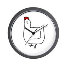 Hen Wall Clock
