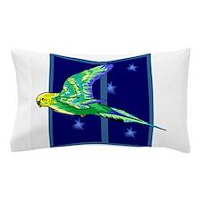 Parakeet Flying Pillow Case