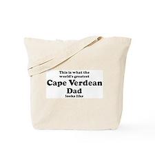 Cape Verdean dad looks like Tote Bag