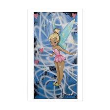 Fairy Girl Sticker (rectangle)