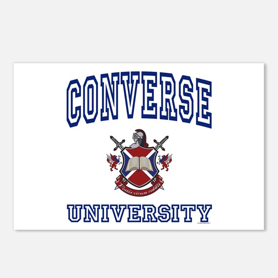 CONVERSE University Postcards (Package of 8)