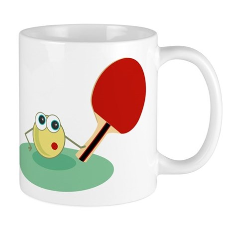 Table Tennis Gift Mug