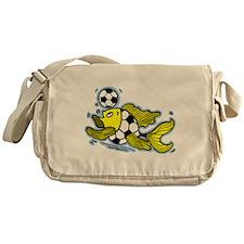 Football Fish Messenger Bag