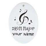 Drum major Ornaments