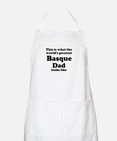 Basque dad looks like BBQ Apron