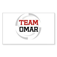 Omar Rectangle Decal