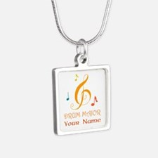 Personalized Drum Major Band Necklaces