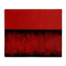 RED HOT ROTHKO Throw Blanket