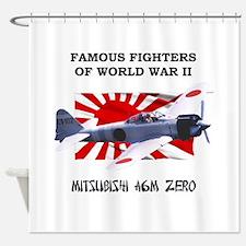 A6M Zero Shower Curtain