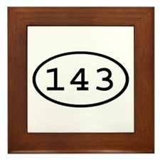 143 Oval Framed Tile