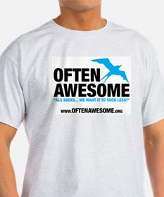 Often Awesome Logo T-Shirt