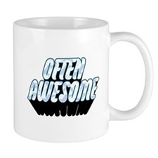 Often Awesome Logo With Swallows - Light Mugs