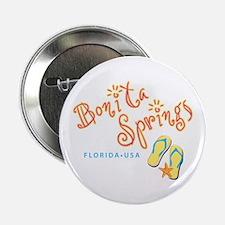 """Bonita Springs - 2.25"""" Button"""